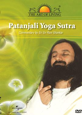 THE ART OF LIVING-PATANJALI YOGA SUTRA poster