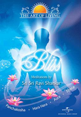 THE ART OF LIVING-BLISS MEDITATION  non-film