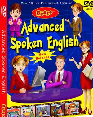 ADVANCED SPOKEN ENGLISH poster