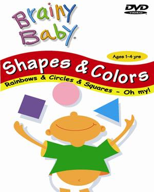 BRAINY BABY (Shapes & Colors)-Vol - 5 DVD