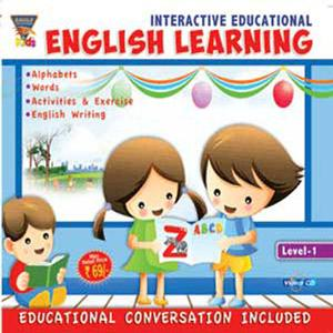 INTERACTIVE EDUCATIONAL English Learning Level-1 poster