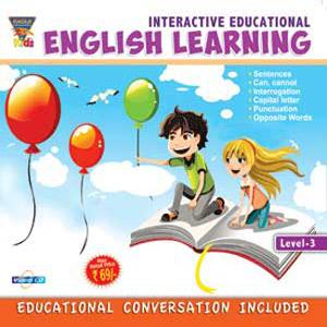 INTERACTIVE EDUCATIONAL English Learning Level-3 poster