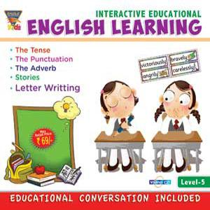 INTERACTIVE EDUCATIONAL English Learning Level-5 poster