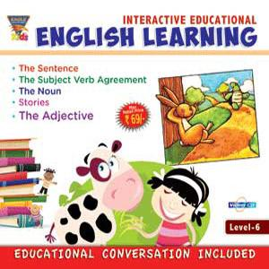 INTERACTIVE EDUCATIONAL English Learning Level-6 poster
