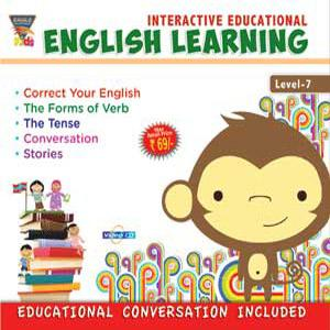 INTERACTIVE EDUCATIONAL English Learning Level-7 poster