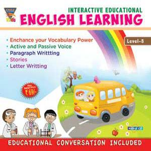 INTERACTIVE EDUCATIONAL English Learning Level-8 poster