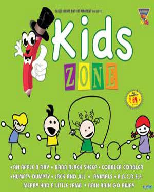 KIDS ZONE -  Animated Rhymes VCD