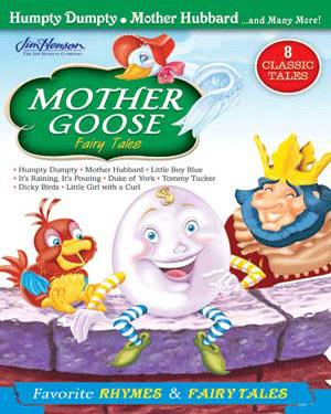 MOTHER GOOSE Fairy Tales - Humpty Dumpty. Mother Hubbard. And Many More!  DVD