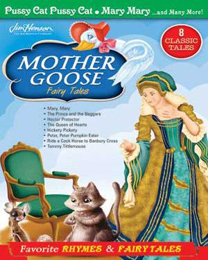 MOTHER GOOSE Fairy Tales - Pussy Cat Pussy Cat. Mary Mary. And Many More DVD