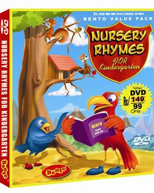 NURSERY RHYMES FOR KINDERGARTEN poster