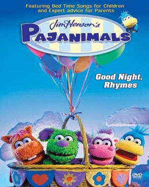 PAJANIMALS-Good Night, Rhymes DVD