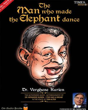 The Man who made the Elephant dance poster