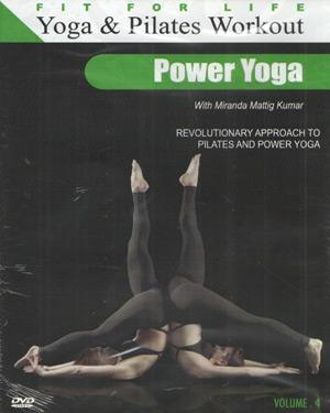 Yoga & Pilates Workout Vol 4-Power Yoga poster