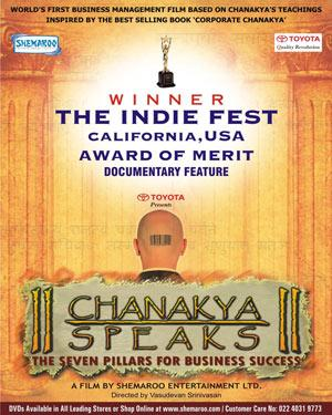Chanakya Speaks - The Seven Pillars for Business Success poster