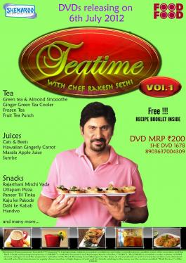 Tea Time With Chef Rakesh Sethi Vol. 1 poster