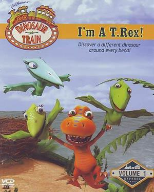 DINOSAUR TRAIN  (VOL-1) - I m a T.Rex DVD
