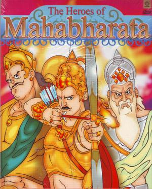 The heroes of mahabharata DVD