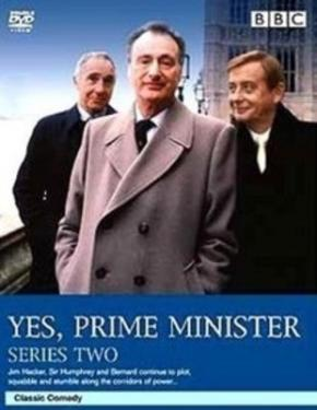 Yes Prime Minister Series Two poster