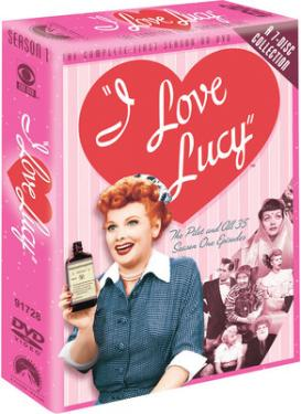 I LOVE LUCY SEASON 1 poster