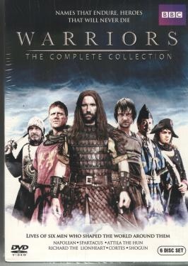 WARRIORS- THE COMPLETE COLLECTION DVD