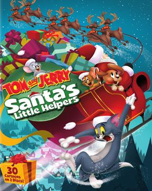 Tom and Jerry - Santas Little Helpers poster