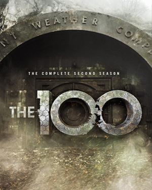The 100: The Complete Second Season poster