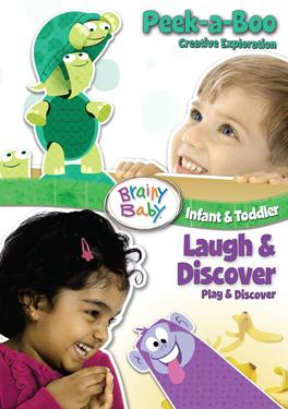 Brainy Baby - Peek-a-boo & Laugh And Discover poster