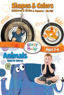 Brainy Baby - Shapes and Colors & Animals poster