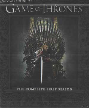 GAME OF THRONES - THE COMPLETE FIRST SEASON poster