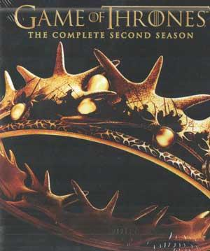 GAME OF THRONES - THE COMPLETE SECOND SEASON poster