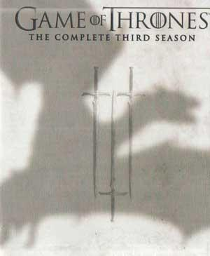 GAME OF THRONES  THE COMPLETE THIRD SEASON poster