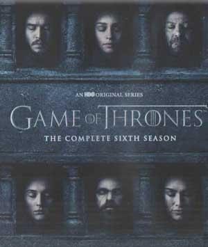 GAME OF THRONES THE COMPLETE SIXTH SEASON poster