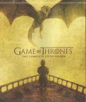 GAME OF THRONES THE COMPLETE FIFTH SEASON poster