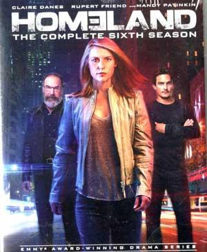 HOMELAND THE COMPLETE SIXTH SEASON poster