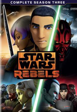 Star Wars Rebels -The Complete Third Season poster