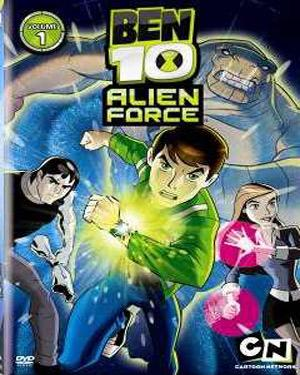 BEN 10 - (ALIEN FORCE) SEASON 1- VOL 1 (EPISODE 1 TO 5) DVD