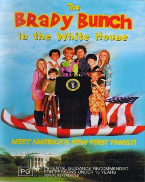 BRADY BUNCH IN THE WHITEHOUSE THE poster