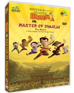 Chotta Bheem And Master Of Shaolin DVD