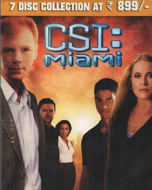 CSI Miami Season 1 DVD