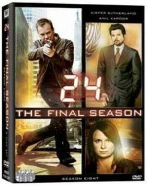 24 SEASON 8 THE FINAL SEASON DVD