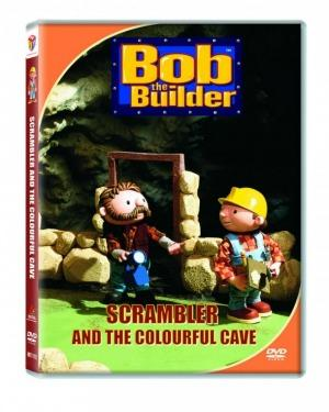 BOB THE BUILDER SCRAMBLER IN COLORFUL CAVE  poster