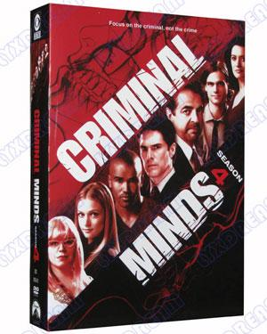 Criminal Mind Season 4 DVD