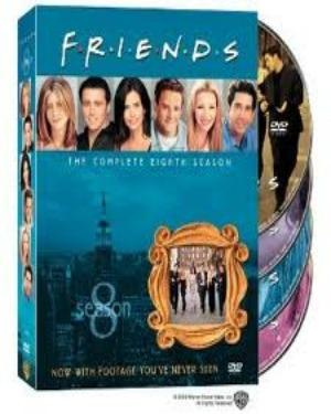 FRIENDS SEASON 8 BOX SET poster
