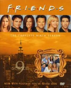 FRIENDS SEASON 9 BOX SET  tvserial