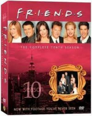 FRIENDS SEASON 10 BOX-SET  tvserial