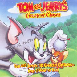 TOM & JERRYS GREATEST CHASES poster