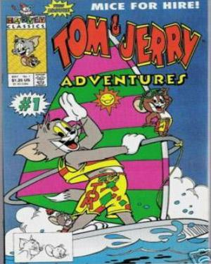 Tom & Jerry Adventures poster
