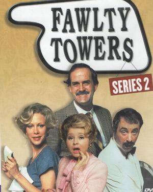 FAWLTY TOWERS SERIES 2  DVD