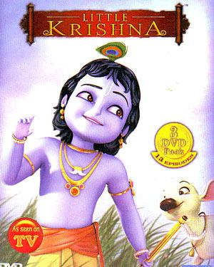 LITTLE KRISHNA  - Animated TV Series Set poster