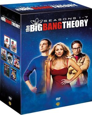 The Big Bang Theory Season 1-7 poster